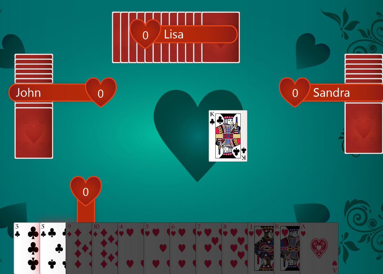 Kartenspiele Hearts Download