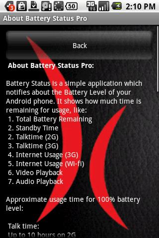 Battery Status Ultimate