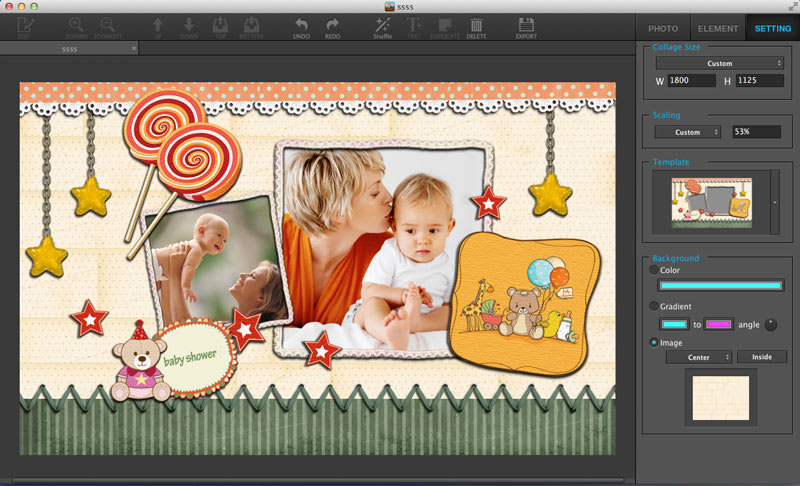 Ephnic Photo Collage for Mac