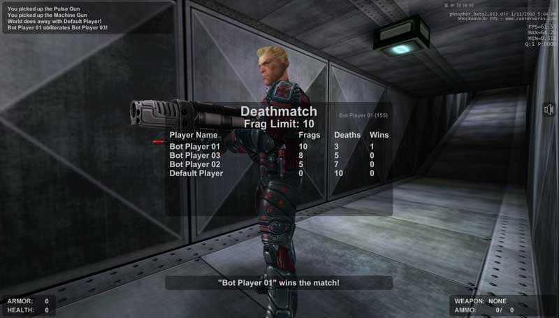 Phosphor Beta 2 Online