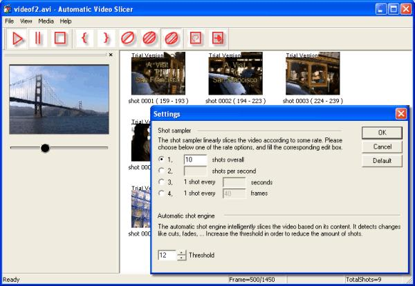 Automatic Video Slicer