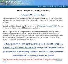 HTML Snapshot