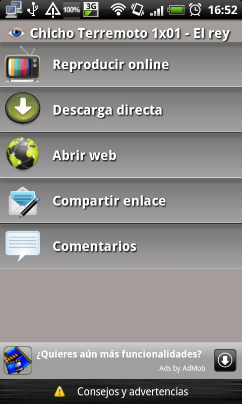 Series para Android