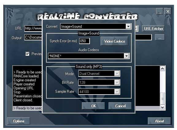 Real7ime Converter