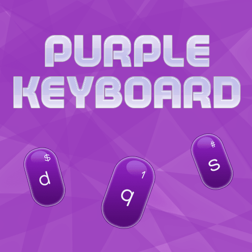 Purple Keyboard Theme