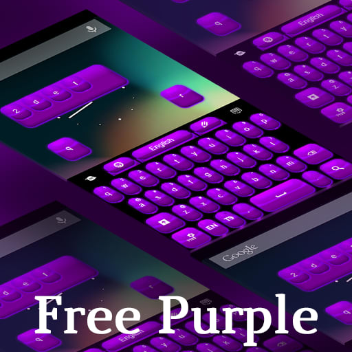 Keyboard Free Purple Theme