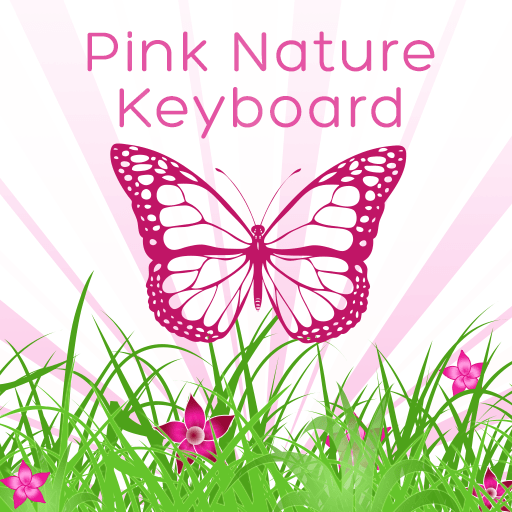 Pink Nature Keyboard