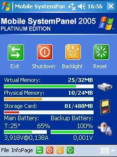 Mobile SystemPanel 2005