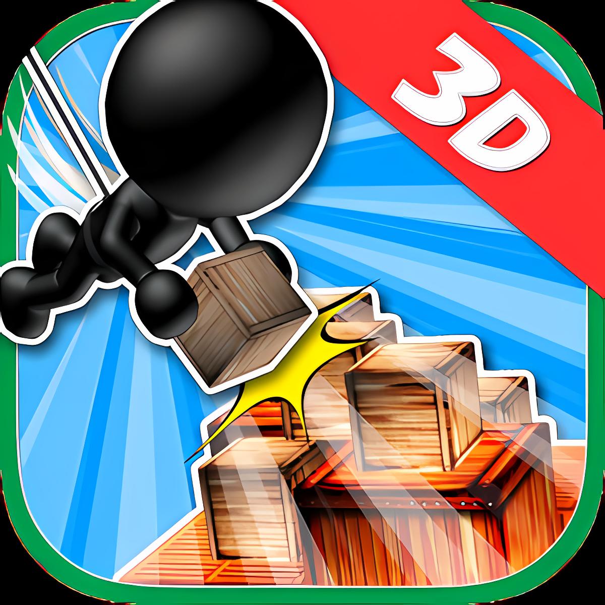 ブロックタワー3D -Mision Impossible2-
