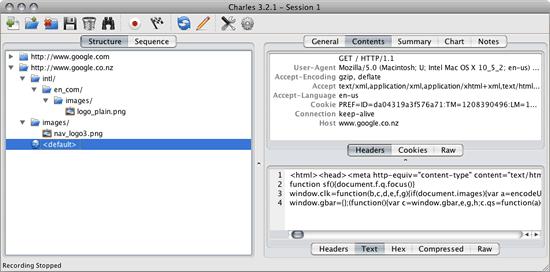 Charles Web Debugging Tool