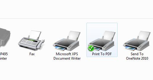Free Print to PDF
