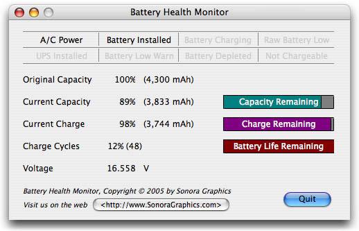 Battery Health Monitor