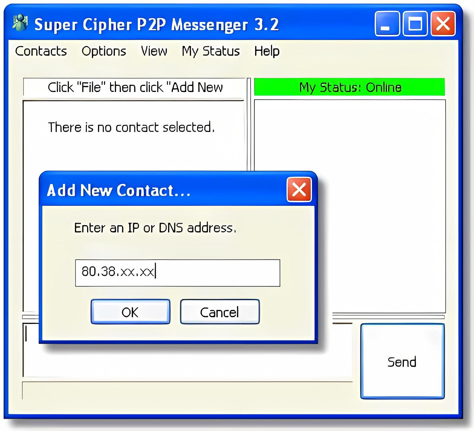 Super Cipher P2P Messenger