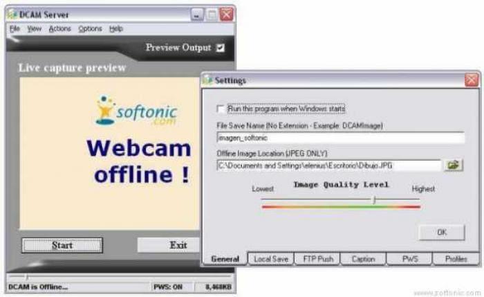 DCAM Server