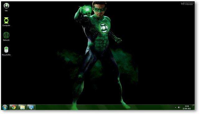 Green Lantern Theme