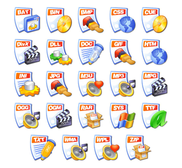 iCandy Junior File Types
