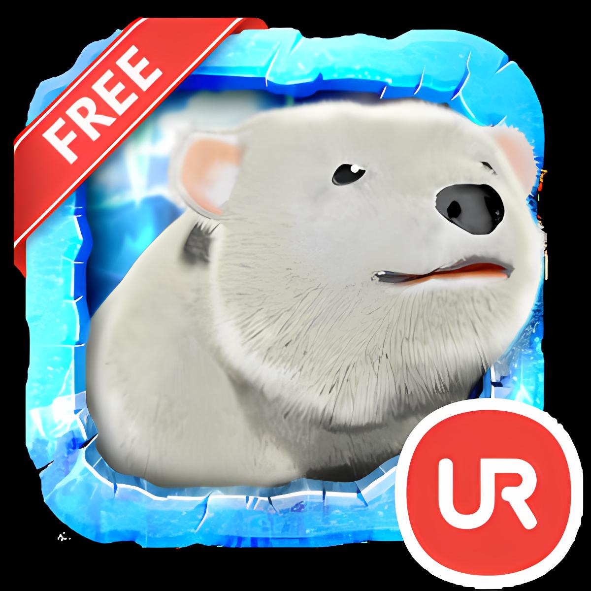 UR 3D Polar Bear HD Wallpaper