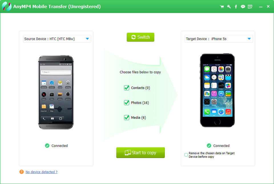 AnyMP4 Mobile Transfer