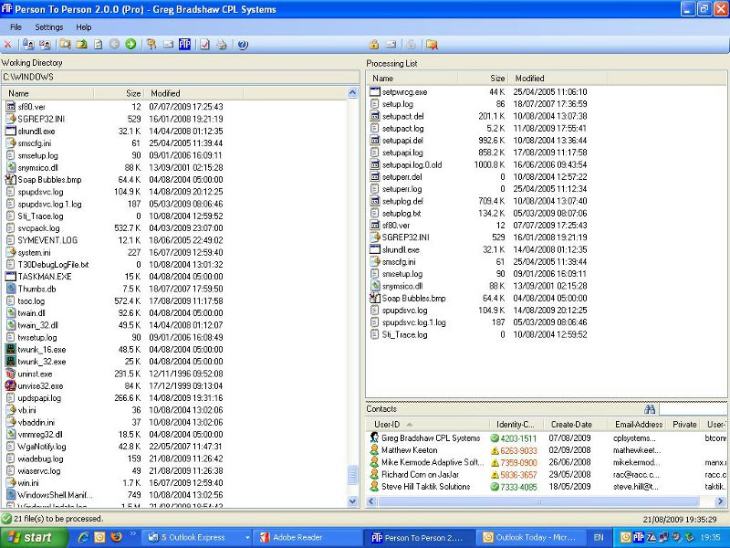 PTP Email Encryption for Outlook