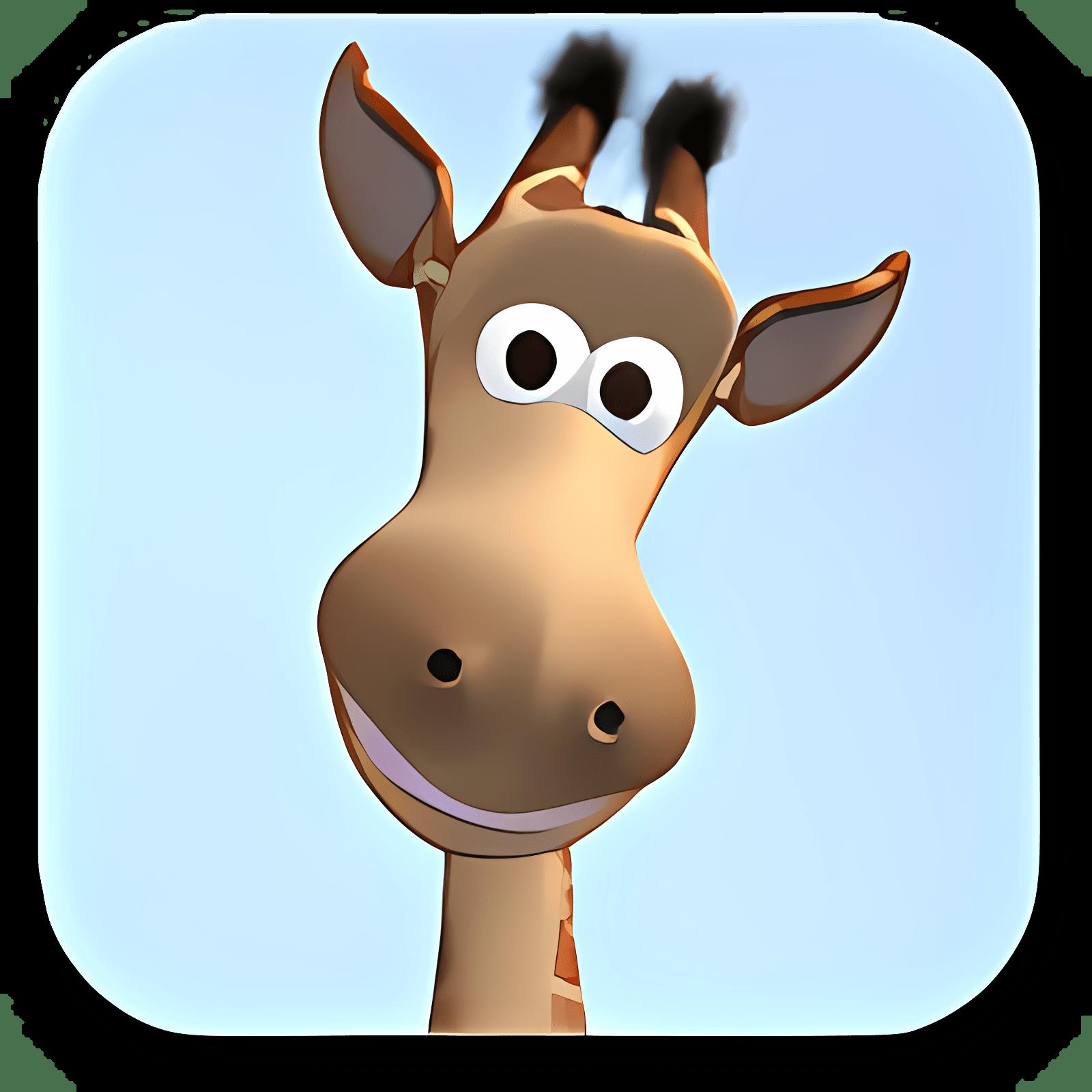 Talking Gina the Giraffe for iPad