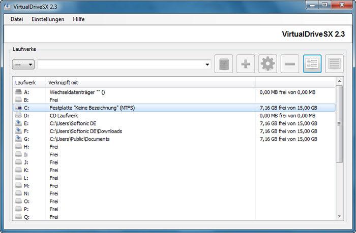 VirtualDriveSX