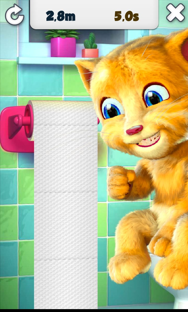 Le jeu dispose d'une variété de vêtement que tu dois choisir pour l'habiller. A toi de faire le choix des couleurs de fourrure, des accessoires. Décore la maison dans laquelle le chaton habite comme les autres possesseurs de chaton ont décoré la maison de leur chaton qui parle. Joue aux jeux avec ton Tom et intègre-le dans ta vie de tous jours.