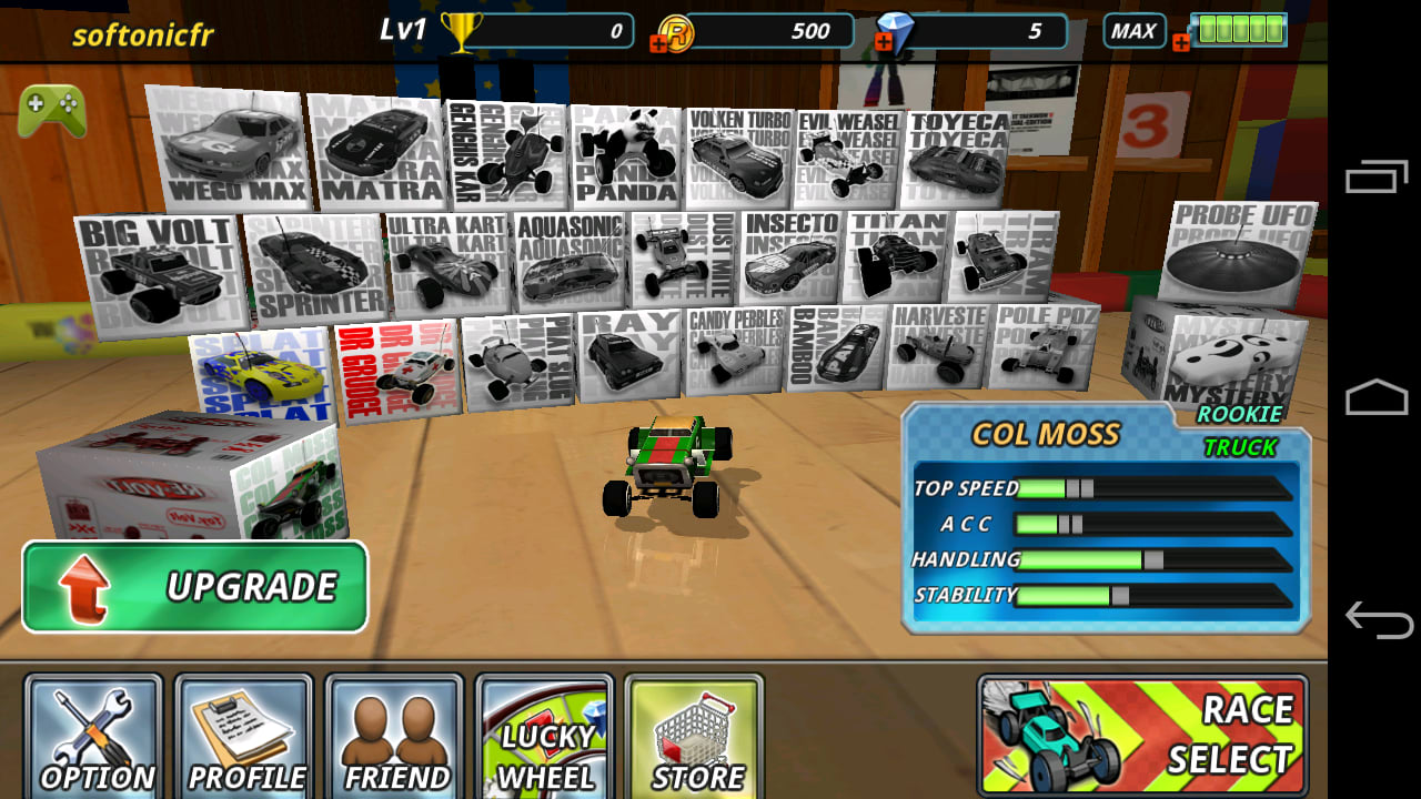 RE-VOLT -- the Best RC-Car Racing Game The new and improved version of the intriguing  racing game! Many fun stages! Thrilling racing missions! The Grand...