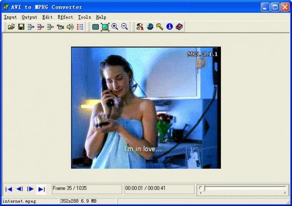 AVI to MPEG Converter