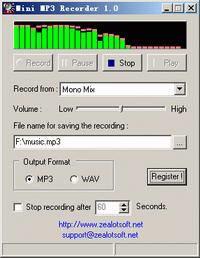 Mini MP3 Recorder