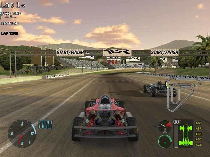 скачать игру stunt racing