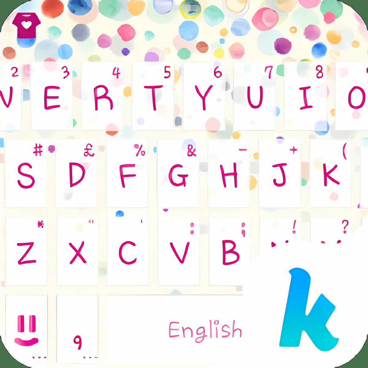 Everyday Dots Keyboard Theme