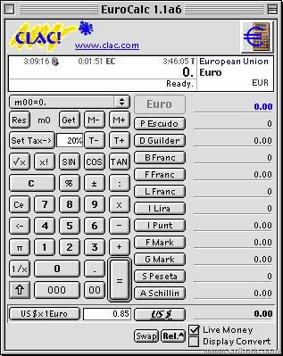 Clac EuroCalc (Carbon)
