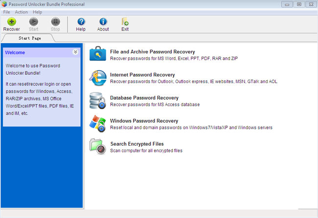 Password Unlocker Bundle Professional