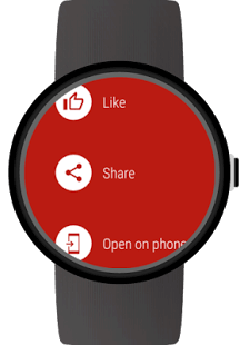 Video for Android Wear&YouTube