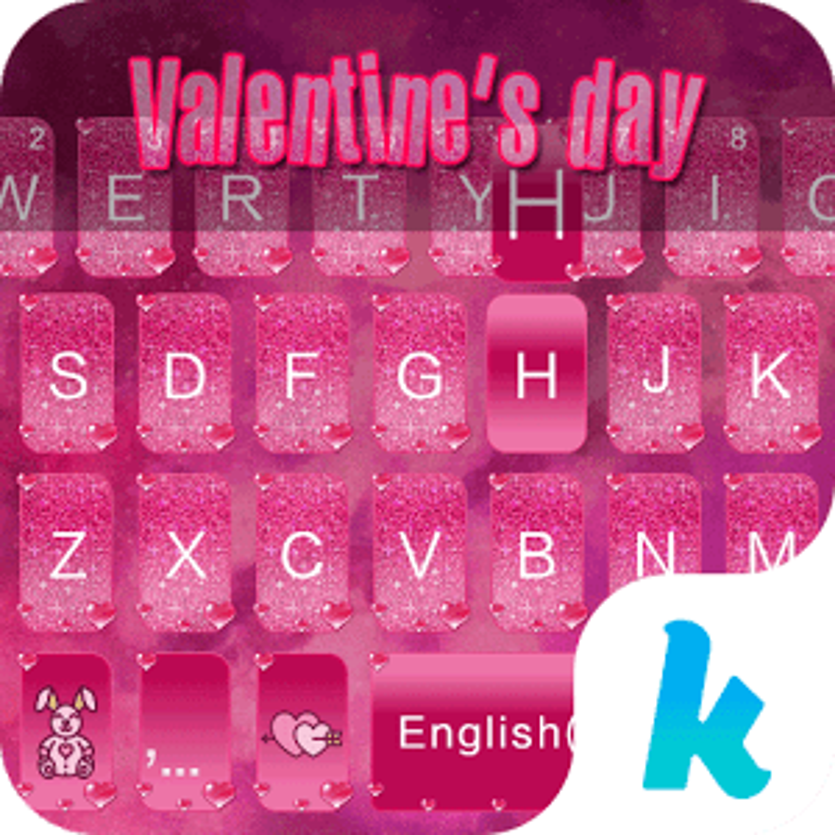 Valentine's day Kika Keyboard 1.0
