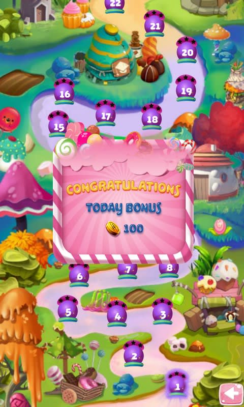 Shoot Bubble Candy Kingdom