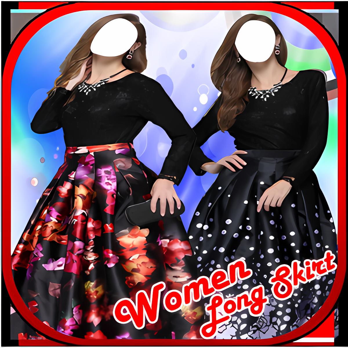 Women Long Skirt Suit