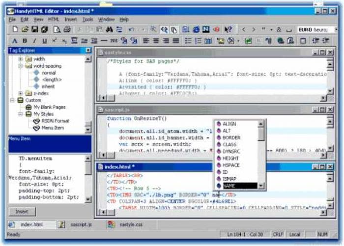 HandyHTML Editor