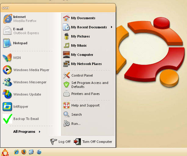 Smooth Ubuntu Human Theme
