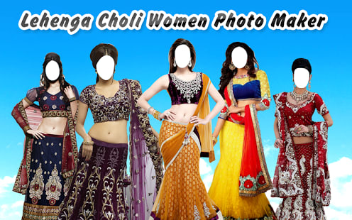 LehengaCholi Women Photo Maker