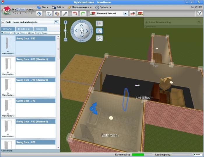 Myvirtualhome descargar for Programa para remodelar casas gratis