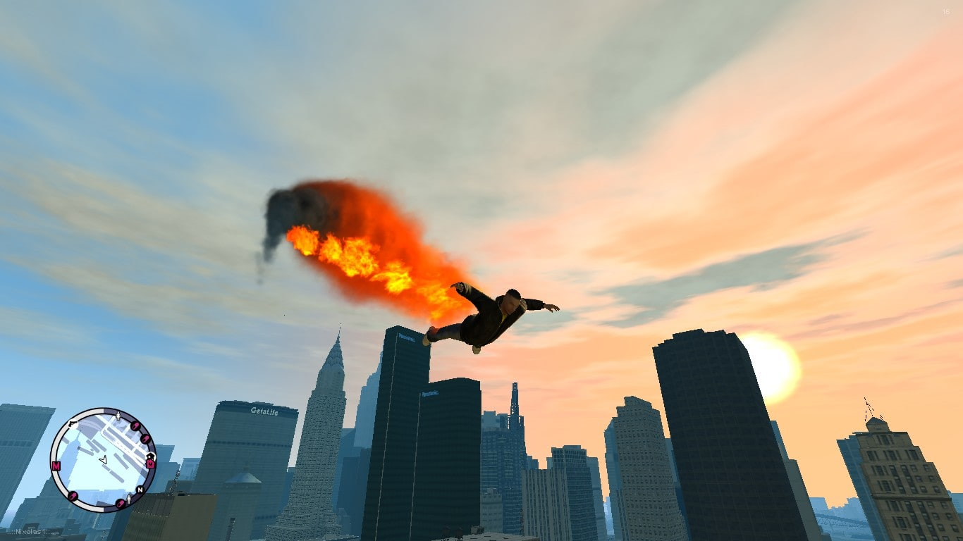 SuperMan Mod for GTA IV