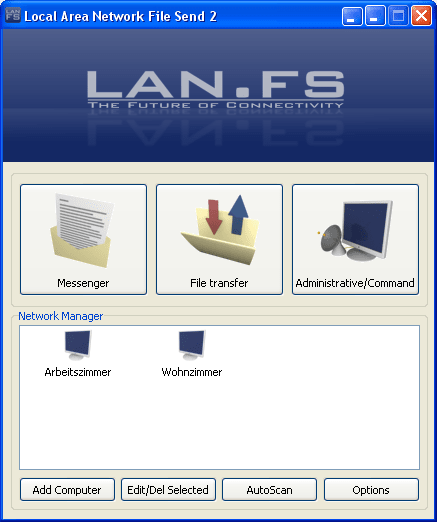 Local Area Network File Send