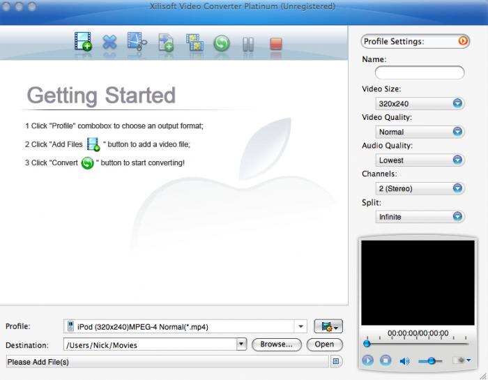 Xilisoft Video Converter Platinum For Mac
