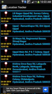 Mobile GPS Location Tracker