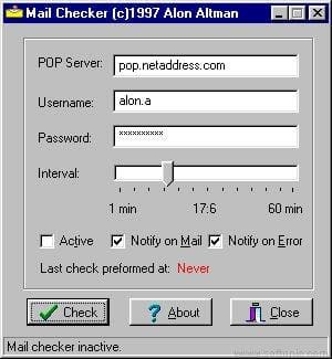Mail Checker