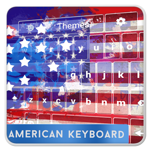American Keyboard with Emojis