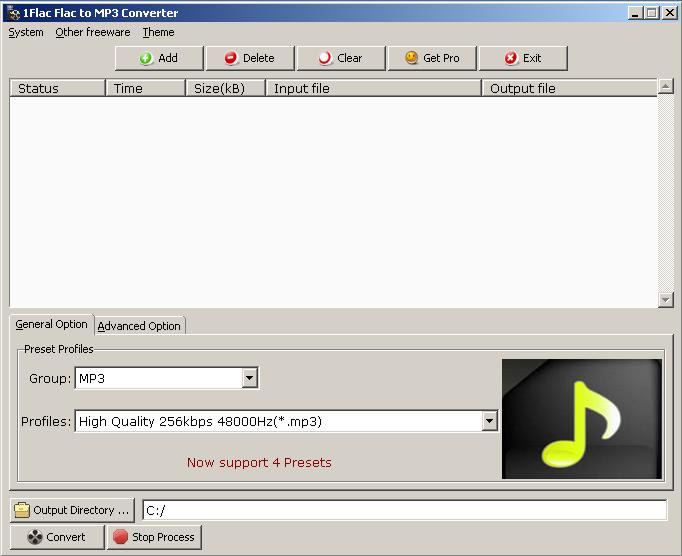 FLAC to MP3 Converter - Download