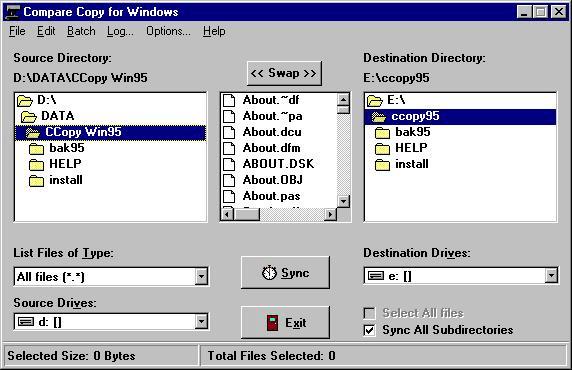 Compare Copy for Windows