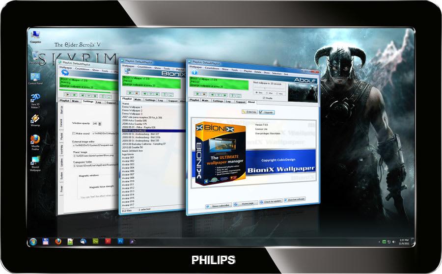 BioniX Desktop Wallpaper Changer
